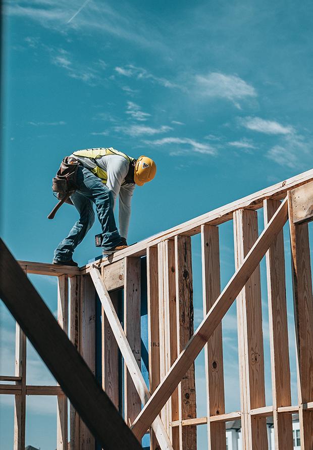 Stick-Built-Framing-Wood-Construction-Worker-Carpenter-represented-by-Foulke-Law-Firm-Goshen-Newburgh-NY-NJ