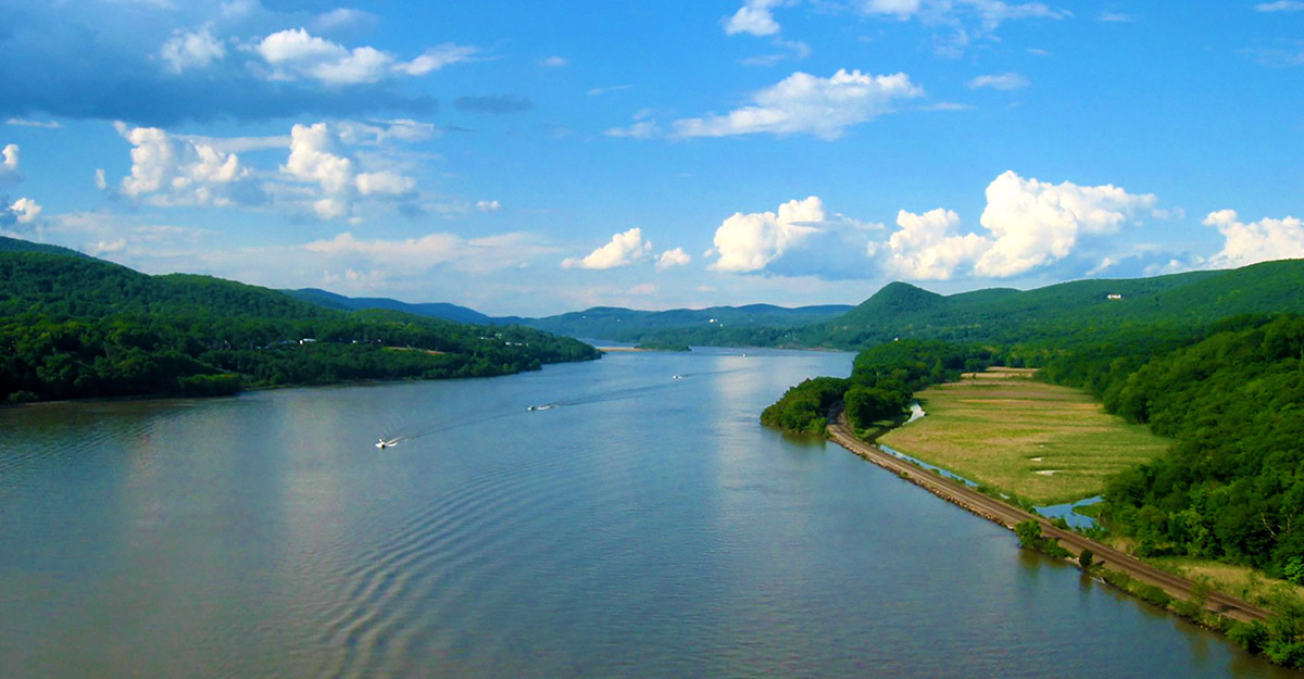 A view of the Hudson River Valley served by Foulke Law Firm including Orange, Sullivan, Ulster New York Counties plus state of New Jersey